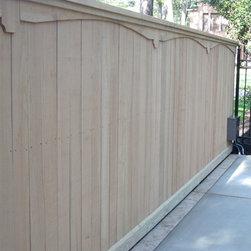 Wood Fence -