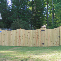 Wood Privacy Fence -