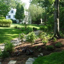 Traditional Landscape by Gwendolyn Johnson Design, LLC