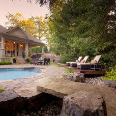 Traditional Landscape by Cedar Springs Landscape Group