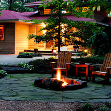 Traditional Landscape by Blue Ridge Landscaping
