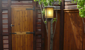 Woodwork: Gates & Fencing, Contemporary