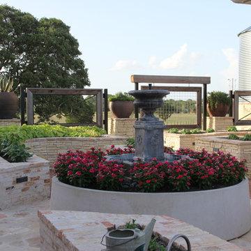 Working Garden Fountain