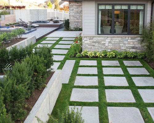 Synthetic Turf Between Travertine Pavers Home Design Ideas