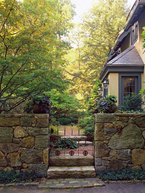 Stone Fence Houzz