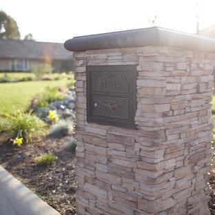 stone mailbox houzz