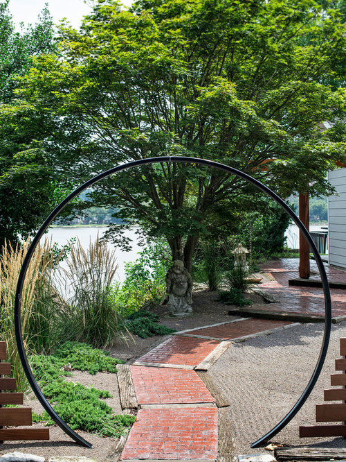 Home Design Gate Ideas: Moon Gate Home Design Ideas, Pictures, Remodel And Decor