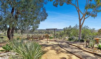 Zen garden overlooking Rancho Santa Fe