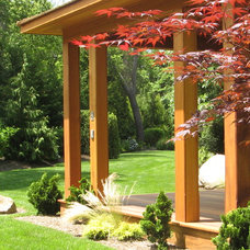 Asian Landscape Zen Garden w Yoga & Amethyst Meditation Pavilion