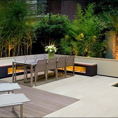 contemporary landscape Zen landscaping
