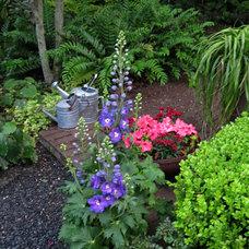 Traditional Landscape by David Morello Garden Enterprises, Inc.