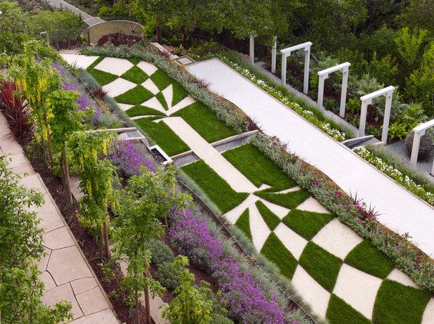 Modern Garten by Zeterre Landscape Architecture