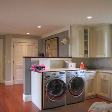 Traditional Laundry Room by Scott L. Rand AIA