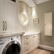 Traditional Laundry Room by Magleby Construction