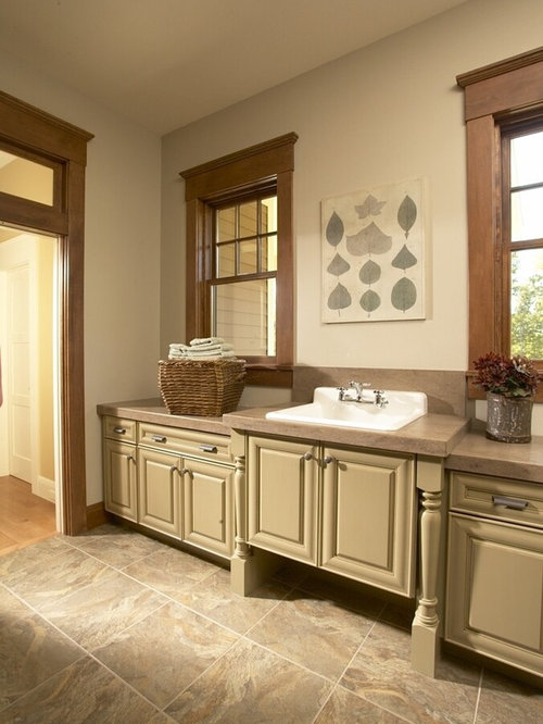 Stained trim houzz for Stained or painted trim