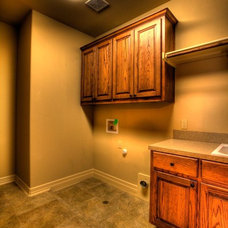 Traditional Laundry Room by Jeff Watson Homes, Inc.