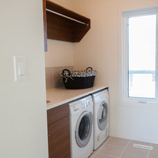 Contemporary Laundry Room by Stranville Living