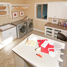 Laundry Room by Creek Hill Custom Homes