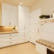 Traditional Laundry Room by Stoneridge Custom Development