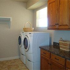 Traditional Laundry Room by Douglas Custom Homes