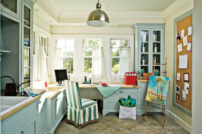Traditional Laundry Room by Stephen Fuller Designs