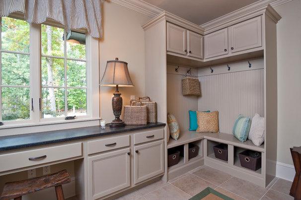 Traditional Laundry Room by Dillard-Jones Builders, LLC