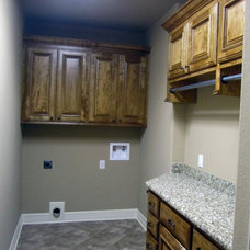 Traditional Laundry Room by Anthony Builders