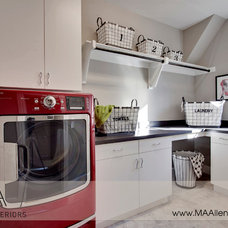 Traditional Laundry Room by MA Allen Interiors