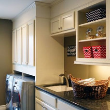 Traditional Laundry Room by Arteva Homes