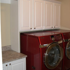 Traditional Laundry Room by Store with Style