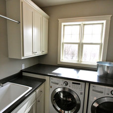 Traditional Laundry Room by BohLand Homes