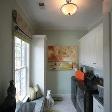 Craftsman Laundry Room by Dunbar Builders