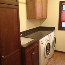 Craftsman Laundry Room by Roberts Residential Remodeling