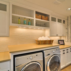 Traditional Laundry Room by TTM Development Company