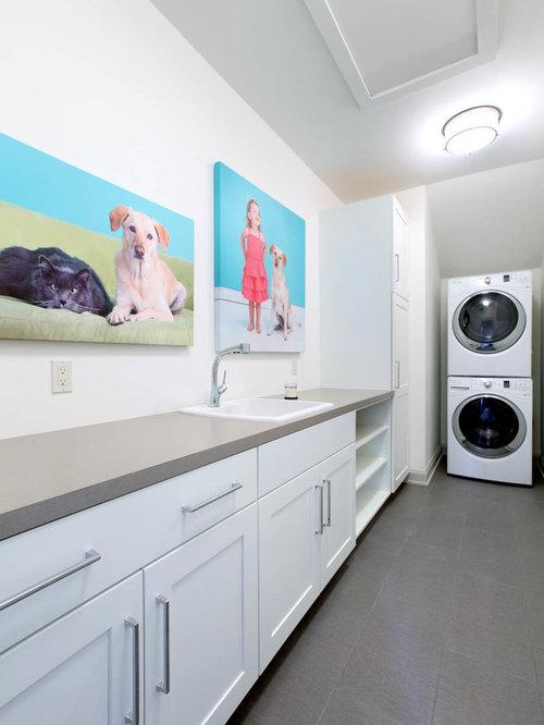 Foto e idee per lavanderie lavanderia arte for Lavanderia in campagna