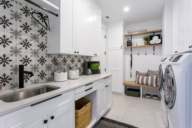 Farmhouse Laundry Room by Century 21 Tri-Cities