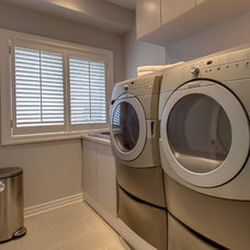 Contemporary Laundry Room by Element Design Build Inc.