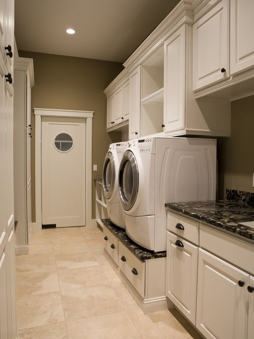 Raised washer and dryer home design ideas pictures - Laundry room remodel ideas ...