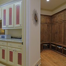 Traditional Laundry Room by Larry Stewart Custom Homes