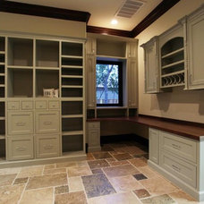 Traditional Home Office by Rice Residential Design