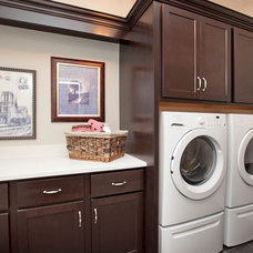 Traditional Laundry Room by 3 Pillar Homes