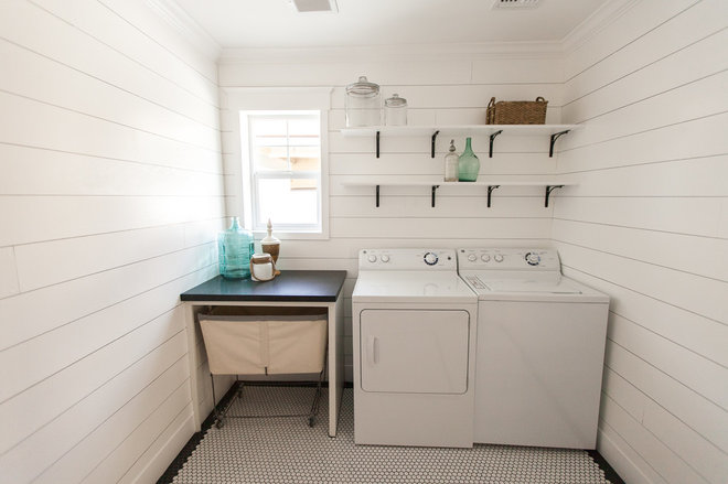 Beach Style Laundry Room by Rafterhouse