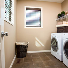 Traditional Laundry Room by Cedarglen Homes