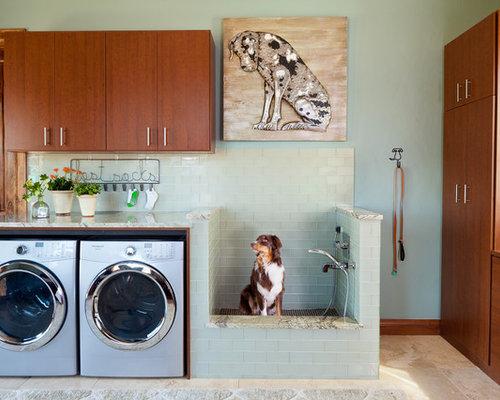 Rustic Laundry Room Idea
