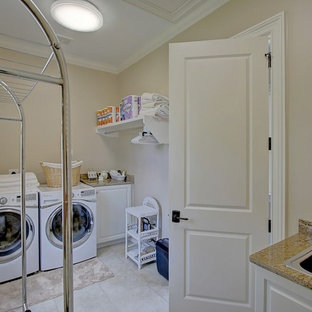 Inspiration for a timeless laundry room remodel in Charleston