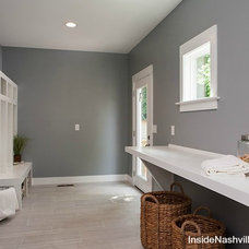 Transitional Laundry Room by Fresh Perspectives