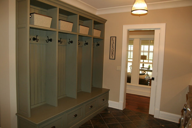 Traditional Laundry Room by Cory Smith Architecture