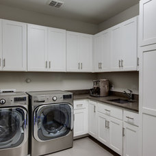 Traditional Laundry Room by Frankel Building Group