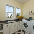 Racine Mud Room Addition For Dogs Transitional Laundry