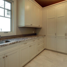 Traditional Laundry Room by A Collaborative Design Group